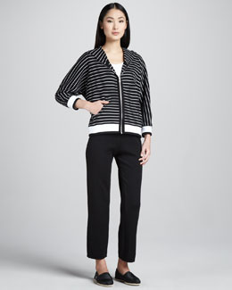 Neiman Marcus Striped Nautical Jogset