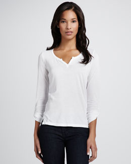Splendid Lightweight Slub Top