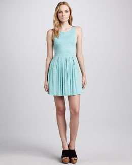 Splendid Melange Jersey Dress