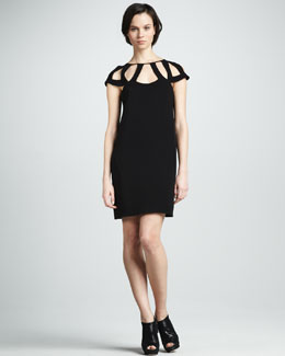 Diane von Furstenberg Achava Dress with Cutout Detail