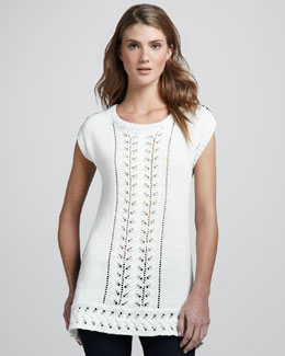 Nanette Lepore Riding Tunic Sweater