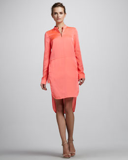 J Brand Ready to Wear Margaret Zip Shirtdress