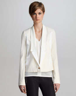 J Brand Ready to Wear Marion Twill Blazer