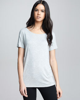 NM Luxury Essentials Super Washed Short-Sleeve Tee