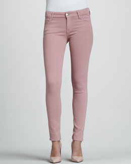 Koral Rose Coated Skinny Jeans