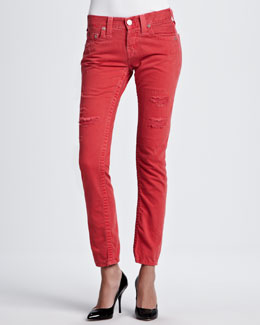 True Religion Brianna Boyfriend Fit Jeans, Cherry