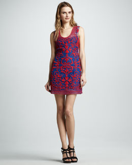Sachin + Babi Amlie Applique Tank Dress