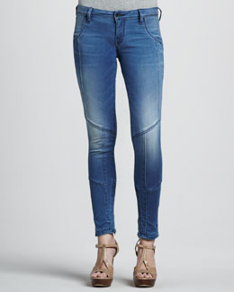 Sinclair Eero Seamed Over & Out Faded Jeans