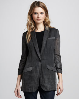 Elizabeth and James Jamie Unlined Blazer