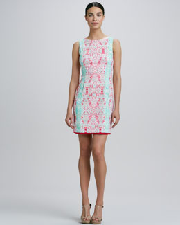 Elie Tahari Holly Printed Dress