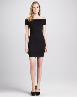 Susana Monaco Naomi Off-the-Shoulder Dress