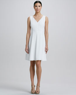 Elie Tahari Joesephina A-Line Dress