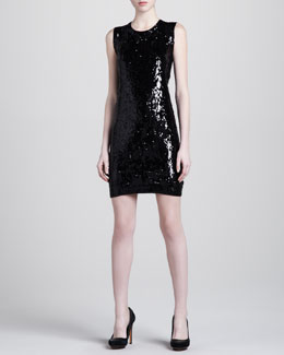 Donna Karan Sequined Minidress
