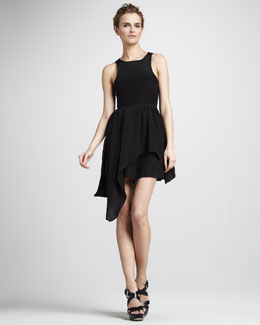Talulah I Always Sleeveless Asymmetric Dress