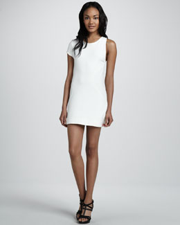 Aiko Chroma Laurette Single-Sleeve Dress