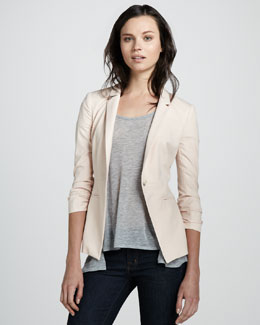 Elizabeth and James Jax Twill Blazer