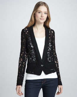 Bailey 44 Sheer Lace Jacket