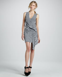 Bailey 44 Devil Ray Stripe Dress