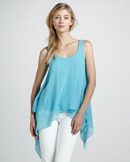 Bailey 44 Manta Ray Sleeveless Asymmetric Top