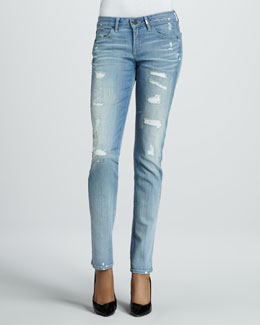 Rich and Skinny Distressed K2 Skinny Jeans