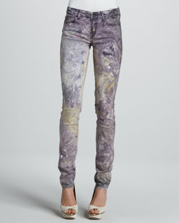 Rich and Skinny Skinny Miracle Marble Jeans