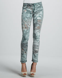 Rich and Skinny Skinny Ace Marble Jeans