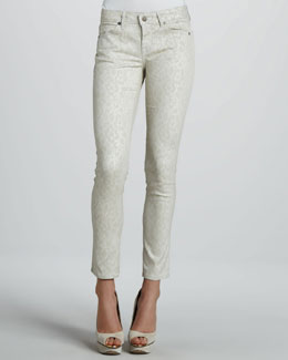 Rich and Skinny Skinny Vital Lace Ankle Peg Jeans