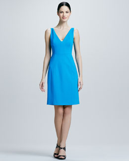 Elie Tahari Nessa Sleeveless Sheath Dress