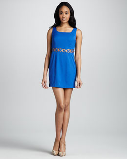 6 Shoreroad Paloma's Cutout Mini Dress