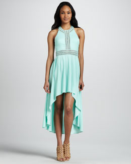 6 Shoreroad Angelina High-Low Racerback Dress