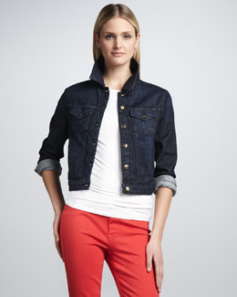 Christopher Blue Venice Slub Denim Jacket