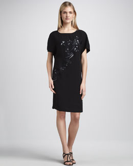 Magaschoni Embroidered Kimono Dress