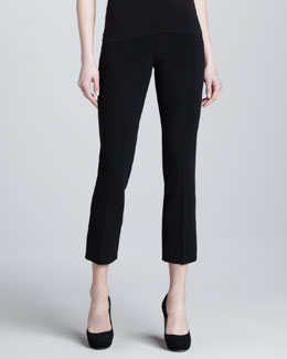 Michael Kors Cropped Crepe Trousers