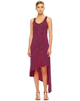 MICHAEL Michael Kors  Striped Asymmetric Dress, Women's