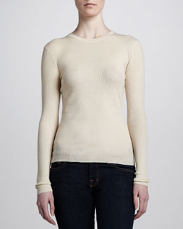 MICHAEL KORS Cashmere Featherweight Sweater