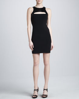 Michael Kors Crepe Sheath