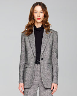 Michael Kors Donegal Tweed Jacket