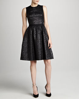 Jason Wu Sleeveless Flounce Dress