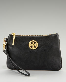 Tory Burch Leather Wristlet