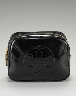 Tory Burch Patent Leather Cosmetic Case