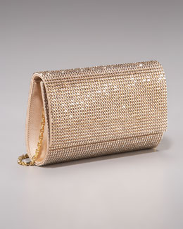 Judith Leiber Crystal Rock Ritz Fizz Clutch