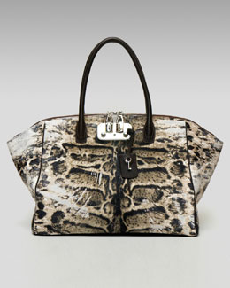VBH Animal-Print Brera Tote