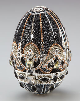 Judith Leiber Russian Egg Crystal Clutch