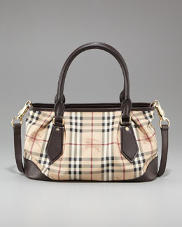 Burberry Check PVC Tote