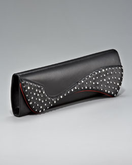 Christian Louboutin Pigalle Crystallized Clutch