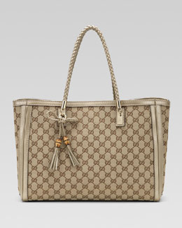 Gucci Bella Medium Tote, GG Fabric