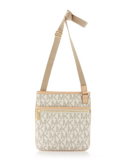MICHAEL Michael Kors  Large Crossbody Bag, Vanilla