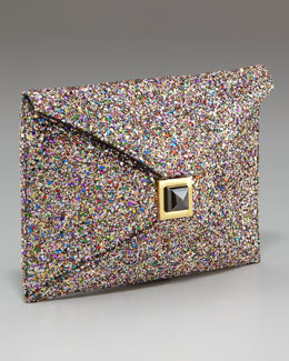 Kara Ross Prunella Confetti Clutch