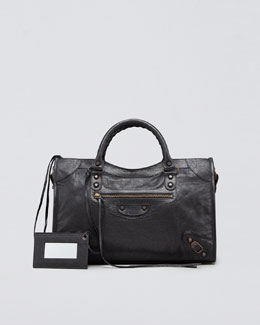 Balenciaga Classic City Bag, Black