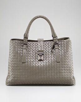 Bottega Veneta Roma Compartment Tote Bag
